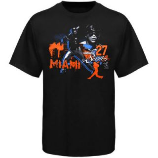 Giancarlo Stanton Miami Marlins Youth Big City Player T Shirt   Black
