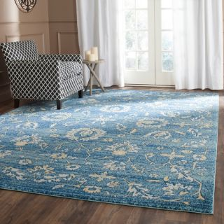 Safavieh Evoke Light Blue/ Gold Rug (8 x 10)