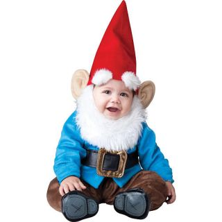 Little Garden Gnome Halloween Costume   Infant Size    Buyseasons