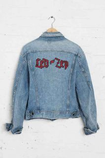 Vintage Lee Led Zeppelin Denim Jacket