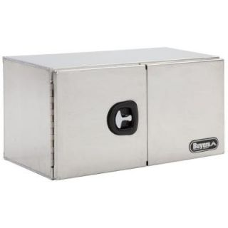 Buyers Products Company 48 in. Smooth Aluminum Double Barn Door Underbody Tool Box 1705310
