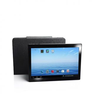 "NuVision 10.1"" HD IPS Quad Core 16GB Tablet with Dual Cameras, Bluetooth Keyboa   8006123"