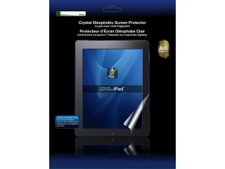 Green Onions Supply Crystal Oleophobic Screen Protector for the new iPad (3rd Generation) and iPad 2