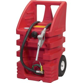 Moeller Gas Walker Portable Fuel Tank — 14-Gal. Tank, 6-Ft. Hose, Model# GW-14  Fuel Caddies