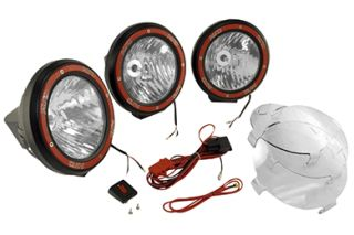 1997 2006 Jeep Wrangler Light Mounts & Wiring   Rugged Ridge 12495.06   Rugged Ridge Light Bar Kits