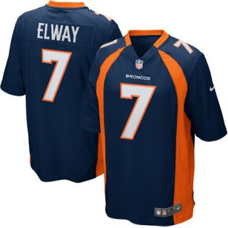 Denver Broncos Nike John Elway Retired Player Game Jersey – Navy