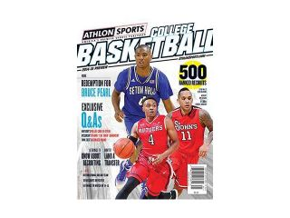 2014 15 Athlon Sports College Basketball Preview Magazine  Rutgers Scarlet Knights/St. John's Red Storm/Seton Hall Pirates Cover