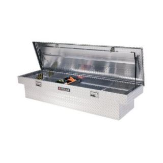 Lund 70 in. Full Size Extra Deep Aluminum Tool Box 9100DBT