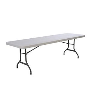 Lifetime 8 Commercial Grade Folding Table, White Granite (4 pk.)