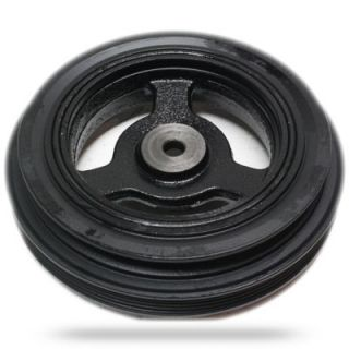 2000 2004 Toyota Tundra Harmonic Balancer   Replacement, Direct Fit, Steel, Triple serpentine belt type; 6.19 in. diameter; 3.09 in. width