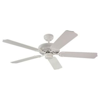 Sea Gull Lighting Ceiling Fan in White Finish