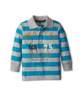 United Colors Of Benetton Kids L S Polo Shirt 3eo4c300p Toddler 600 Multi