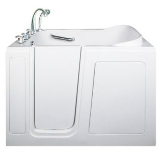 Ella Walk In Bath Short 40 x 48 Long Air Massage Walk In Bathtub