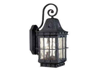 "Vaxcel Edinburgh 7"" Outdoor Wall Light Colonial Iron   ED OWD070CI"