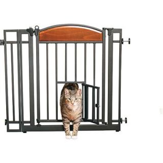 Carlson Home Decor Auto Close Walk Through Pet Gate