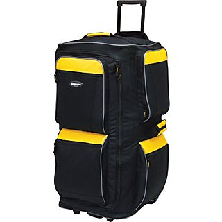 Travelers Club Luggage Adventure 29 6 Pocket Rolling Upright Duffel