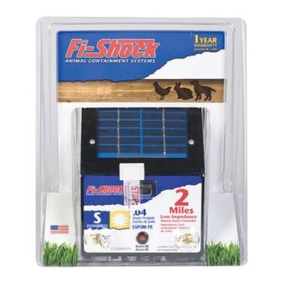 Fi Shock® Solar Shock Electric Fence Energizer (ESP2M FS)   Electric Fence