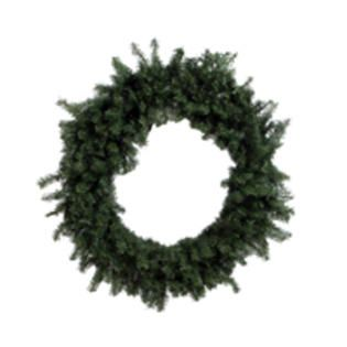 Vickerman Unlit 48 Inch Canadian Pine Artificial Christmas Wreath