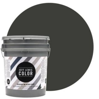 Jeff Lewis Color 5 gal. #JLC113 Mud No Gloss Ultra Low VOC Interior Paint 105113