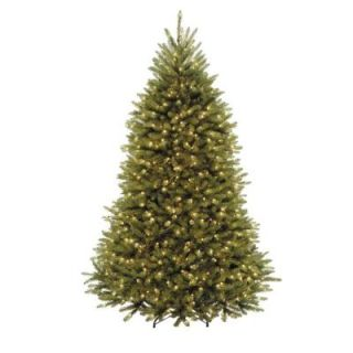 National Tree Company 7.5 ft. Dunhill Fir Artificial Christmas Tree with Clear Lights DUH3 75LO S16