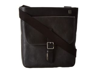 Tumi T Tech Forge Pueblo Top Zip Leather Crossbody Black