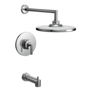 MOEN Arris Posi Temp Single Handle 1 Spray Tub and Shower Faucet Trim Kit in Chrome (Valve Sold Separately) TS22003