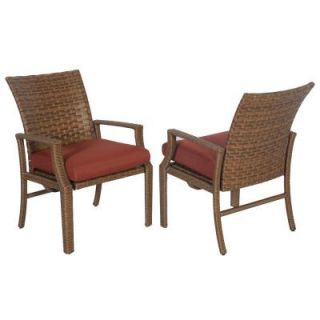 Hampton Bay Tobago Replacement Patio Rocking Dining Chair Cushion (2 Pack) 151 115 SRC2 CSH