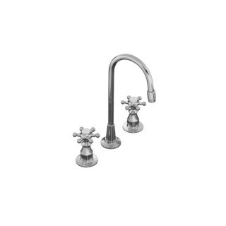 KOHLER Antique Polished Chrome 2 Handle Bar and Prep Faucet
