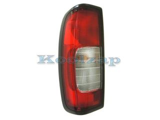 Aftermarket For 1998 1999 2000 Frontier Pickup Truck 2.4L 2WD 4WD (without Crew Cab, built through 09/1999) Taillight Taillamp Rear Brake Tail Light Lamp Left Driver Side (98 99 00)