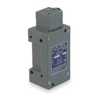 SQUARE D Heavy Duty Limit Switch, 600VAC/DC Voltage Rating, 10 Amps, Side Actuator Location   Limit / Interlock Switches   2UYJ5|9007CR53G