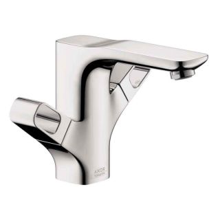 Hansgrohe Axor Urquiola Chrome 2 Handle Single Hole Bathroom Faucet (Drain Included)