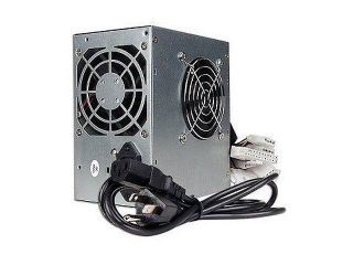 New  A Power AGS450 Power Supply 20+4 pin Dual Fans ATX with SATA 450W