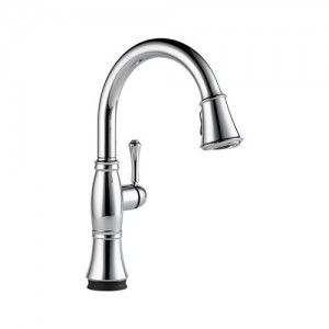 Delta 9197T DST Cassidy Single Handle Pull Down Kitchen Faucet w/Touch2O Technology   Chrome
