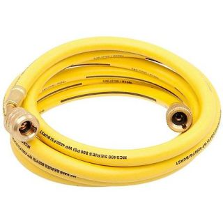 "Factory Air 96""   Yellow Manifold Gauge R134a Service Hose w/ Anti Blow Back 59896"