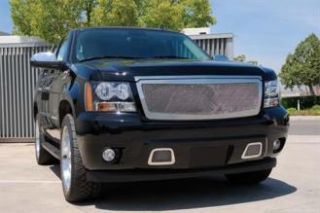 T Rex Grilles   Upper Class; Mesh Grille Insert   Fits 2007 to 2014 Chevrolet Tahoe, Suburban, Avalanche LTZ Models