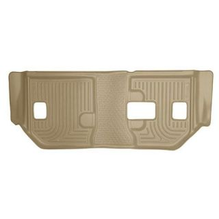 Husky Liners   Husky Liners WeatherBeater Floor Liners Rear Tan 19273   Fits 2011 to 2014 Cadillac Escalade ESV