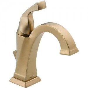 Delta 551 CZ DST Dryden Single Handle Centerset Lavatory Faucet w/Pop Up   Champagne Bronze