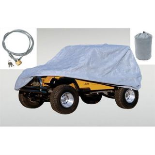 Rugged Ridge   Rugged Ridge 55 06 Jeep Wrangler and CJ Full Cover Kit (Gray), 13321.72   Fits 1955 to 2006 Wrangler and CJ