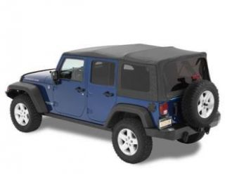Bestop   Bestop Supertop Soft Top (Black Diamond) NX Style, 54723 35   Fits 2007 to 2016 Wrangler Unlimited and Rubicon Unlimited