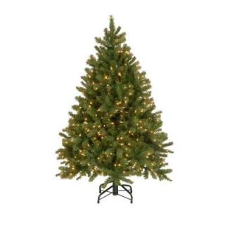 4.5 ft. Unlit Feel Real Downswept Douglas Fir Artificial Christmas Tree PEDD4 503 45