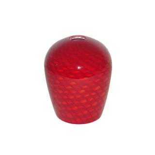 Portfolio 6 in H 5 in W Red Scale Art Glass Pendant Light Shade