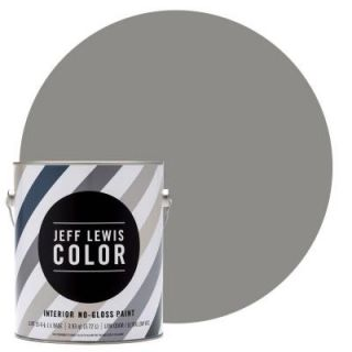 Jeff Lewis Color 1 gal. #JLC415 Gray Geese No Gloss Ultra Low VOC Interior Paint 101415