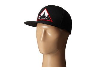 Obey Metropolis Snapback Hat Black, Accessories, Black, Men