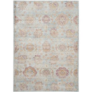 Safavieh Sevilla Light Blue/ Multi Viscose Rug (8 x 11)   17097200