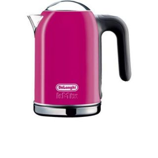 DeLonghi kMix 1.6 Liter Electric Kettle in Magenta DISCONTINUED DSJ04MA   Mobile