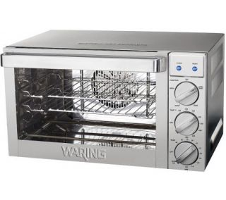 Waring 0.9 Cu. Ft. Commercial Countertop Convection Oven —