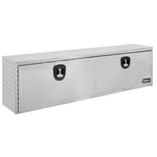 Buyers Products Company 48 in. Aluminum Recessed Door Underbody Tool Box with T Handle Latch 1705110