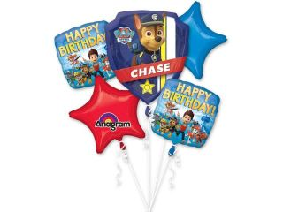 Paw Patrol Balloon Bouquet   Party Supplies