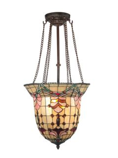 Dale Tiffany TH100476 Antique Brass Pendant Light
