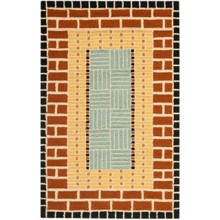 Safavieh Four Seasons Rectangular Brown Transitional Woven Accent Rug (Common 2 ft x 4 ft; Actual 30 in x 48 in)